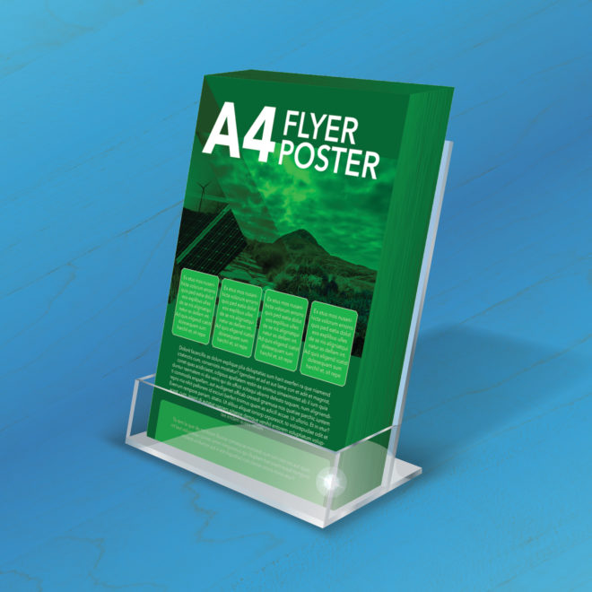 Bridge Signs - Web Images - A4 Flyer Poster Acrylic Stand