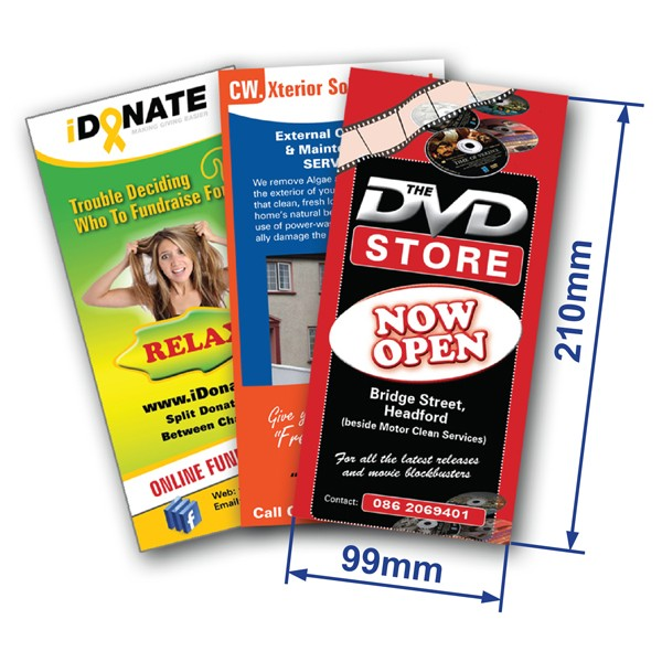 DL Single Sided Flyer