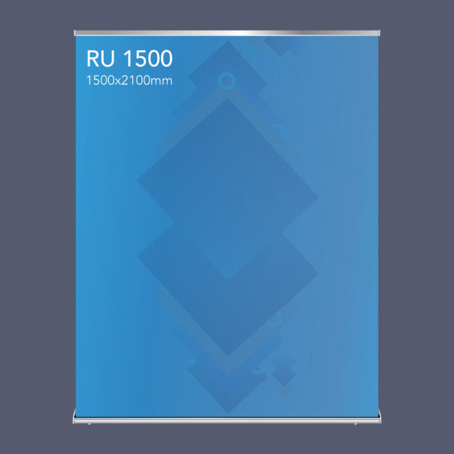 RU1500 Extra Wide Pull up Banner