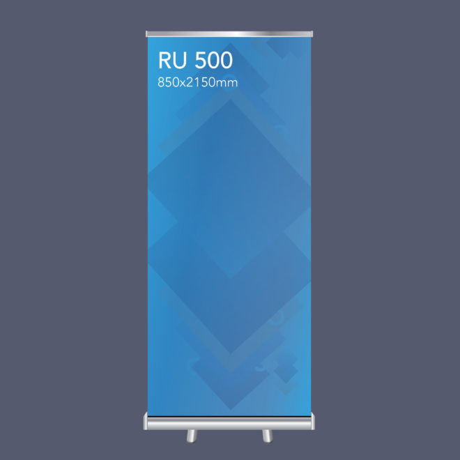 RU 500 Pull Up Banner